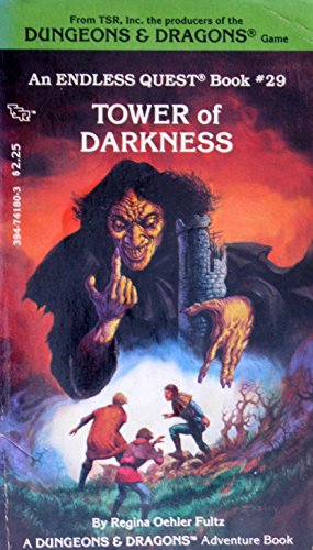 Tower of Darkness (Dungeons and Dragons Adventure Book): Fultz, Regina Oehler