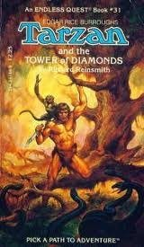 9780880382052: Tarzan & the Tower of Diamonds # (A Pick a path to adventure book)