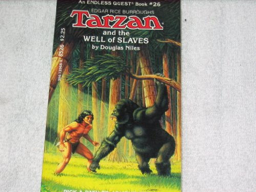 9780880382069: Tarzan and the Well of Slaves (Endless Quest)