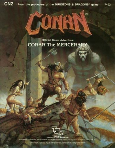9780880382335: Conan the Mercenary: Module Cn2 (Conan Game Adventure)