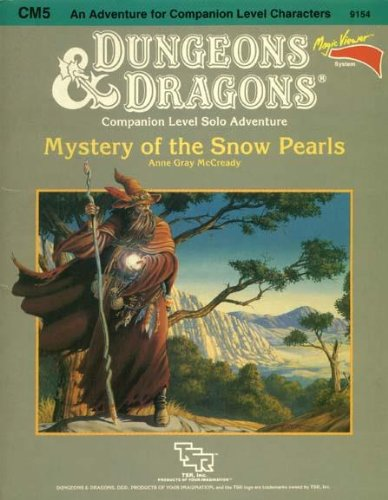9780880382397: Mystery of the Snow Pearls (Dungeons & Dragons Module CM5)