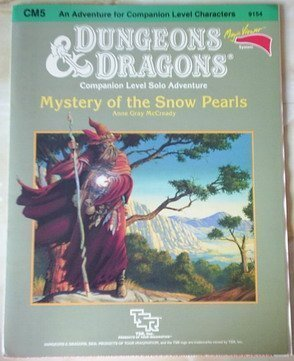 Mystery of the Snow Pearls (Basic Dungeons & Dragons (Original Edition) - Modules & ...