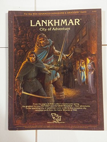 9780880382472: Lankhmar, City of Adventure (For Use With Advanced Dungeons & Dragons Game)