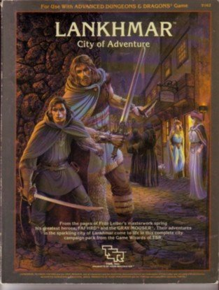 Lankhmar, City of Adventure (For Use With: Bruce Nesmith; Douglas