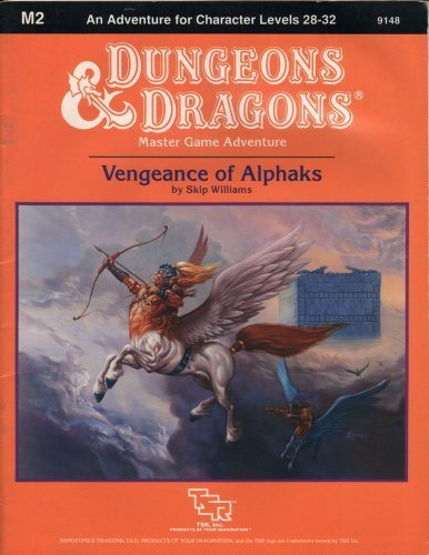 9780880382717: Vengeance of Alphaks (Dungeons and Dragons Master Module M2)