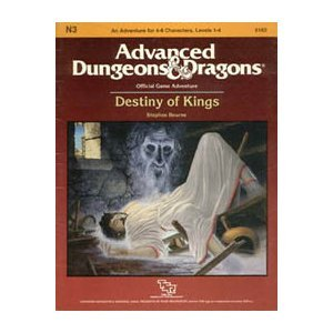 9780880382748: Destiny of Kings (Advanced Dungeons & Dragons Adventure, No. N3)