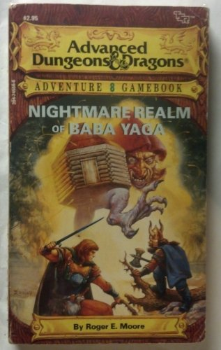 9780880382861: Nightmare Realm of Baba Yaga (Advanced Dungeons & Dragons Adventure Gamebook)