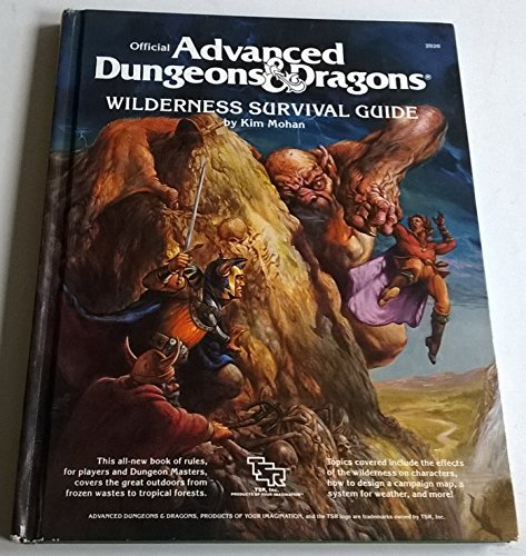 Official Advanced Dungeons and Dragons: Wilderness Survival Guide, Mohan, Kim