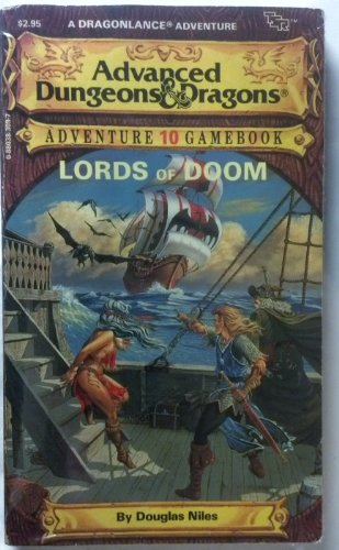 Lords of Doom: A DragonLance Adventure (Advanced Dungeons and Dragons Adventure Gamebook, No 10): ...