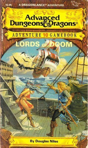 Lords of Doom (A DragonLance Adventure) (Advanced Dungeons & Dragons Adventure Gamebook #10)
