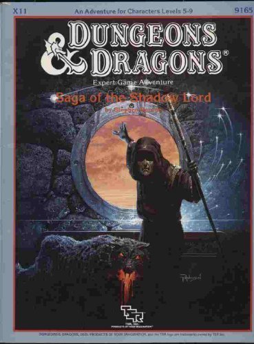 9780880383110: Saga of the Shadow Lord (Dungeons and Dragons Module X11)