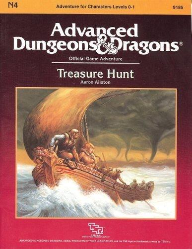 Treasure Hunt (Advanced Dungeons and Dragons Module N4): Aaron Allston