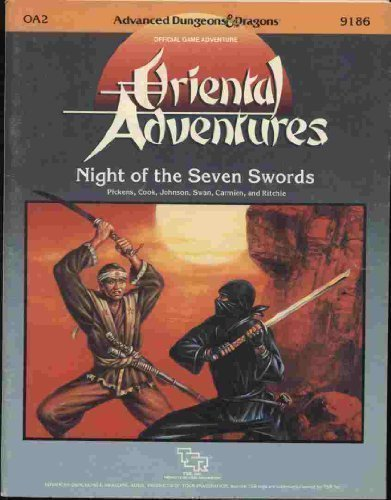 Night of the Seven Swords (Advanced Dungeons & Dragons (1st Edition) - Modules & Adventures...