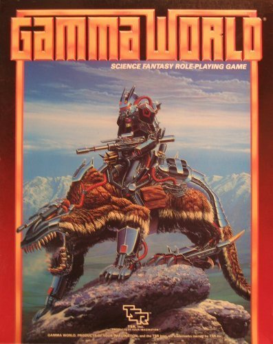 9780880383301: Gamma World Science Fantasy Role-Playing Game/Boxed (3rd edition)