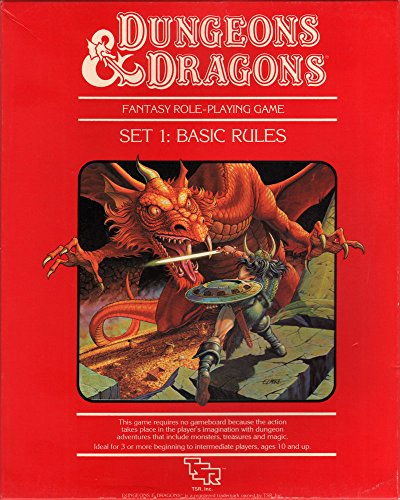 9780880383387: D & D Basic Rules Set Number 1