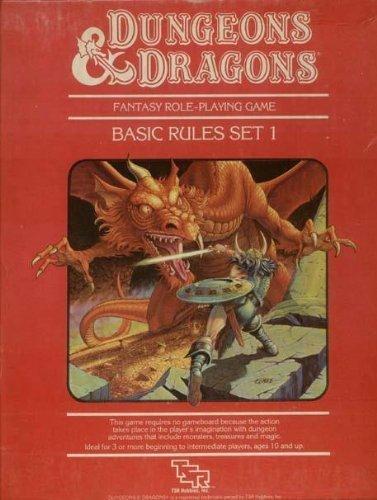 9780880383387: Dungeons & Dragons Basic Rules, Set 1 [BOX SET]