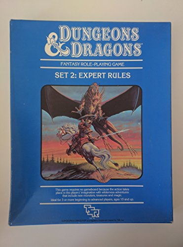 Dungeons and Dragons: Expert Rules, Set Two: Gygax, Gary; Arneson, Dave