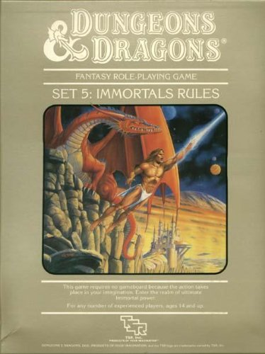 9780880383417: Immortals Rules, Dungeon and Dragons Fantasy Role-Playing Game Set 5