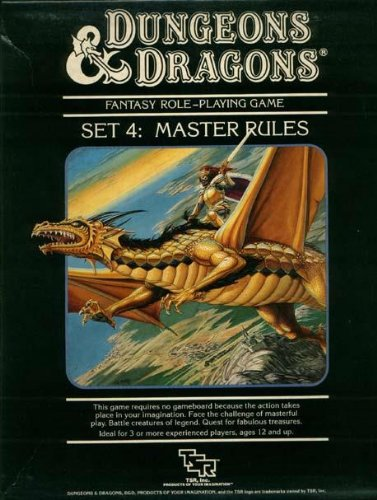 9780880383424: Dungeons & Dragons Set 4: Master Rules