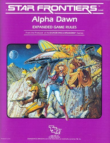 9780880383462: Star Frontiers (Alpha Dawn) [BOX SET]