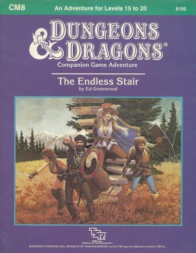 9780880383905: The Endless Stair (Dungeons and Dragons Module CM8)
