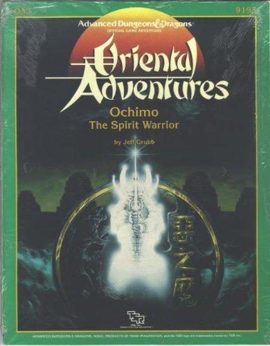 9780880383936: Ochimo: The Spirit Warrior (Advanced Dungeons & Dragons/Oriental Adventures module OA3)