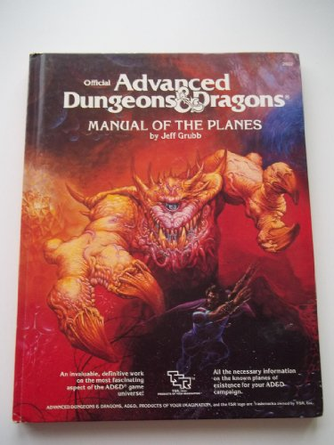 Manual of the Planes (Advanced Dungeons and Dragons): Grubb, Jeff