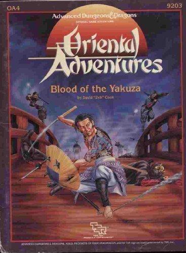 9780880384018: Blood of the Yakuza (Advanced Dungeons & Dragons/Oriental Adventures Module OA4)