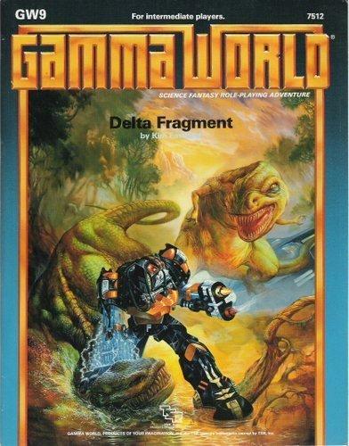 9780880384063: The Delta Fragment (Gamma World Module GW9)