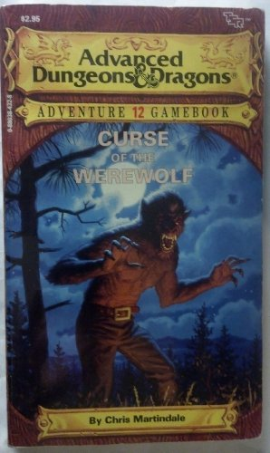 9780880384322: Curse of the Werewolf (Advanced Dungeons & Dragons Adventure Gamebook)