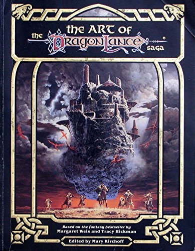 9780880384476: The Art of the Dragonlance Saga: Based on the Fantasy Bestseller by Margaret Weis and Tracy Hickmann