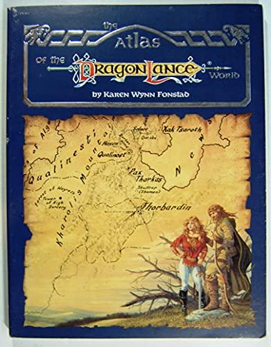 9780880384483: The Atlas of the Dragonlance World (Dragonlance Books)