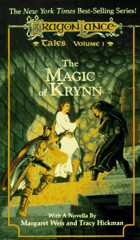 The Magic of Krynn : Riverwind and the Crystal Staff; The Blood Sea Monster; A Stone's Throw Away...