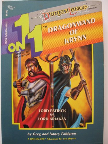 9780880384605: The Dragonwand of Krynn (One-on-One Adventure Gamebook, No 10) [BOX SET]