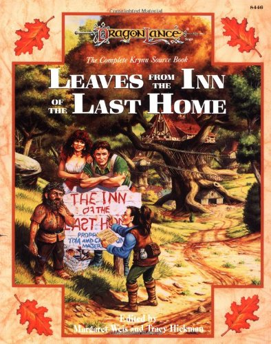 9780880384650: Leaves from the Inn of the Last Home: v. 1: The Complete Krynn Source Book (Dragonlance: Sourcebooks on Krynn)
