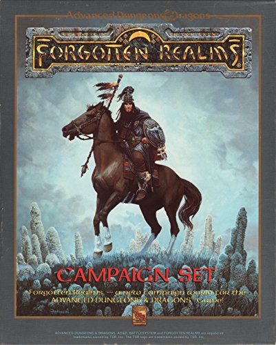 9780880384728: Forgotten Realms Boxed Set (Advanced Dungeons & Dragons)