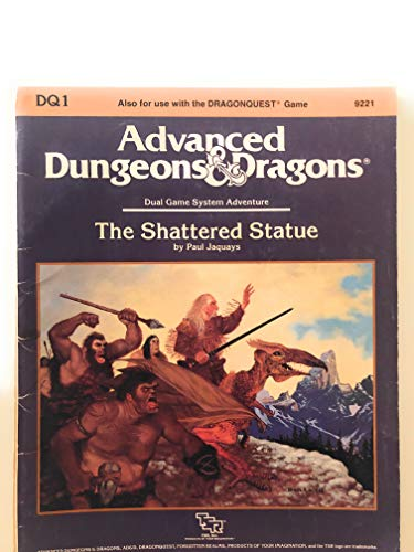 9780880384988: The Shattered Statue (Advanced Dungeons and Dragons)