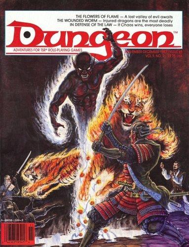 Dungeon Adventures Magazine, Issue #8 (November/December 1987)