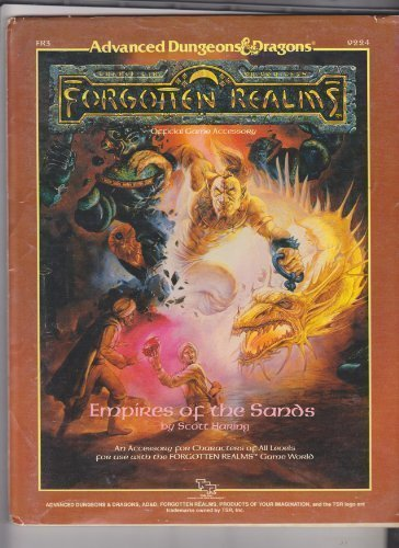 9780880385398: Empires of the Sands (AD&D Fantasy Roleplaying, Forgotten Realms Adventure, FR3)