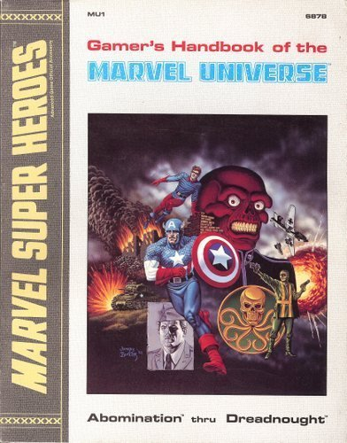 Gamer's Handbook of the Marvel Universe #1 - Abomination thru Dreadnought (Marvel Super Heroes...