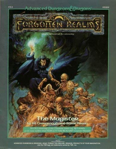 9780880385640: The Magister (AD&D/Forgotten Realms Module FR4)