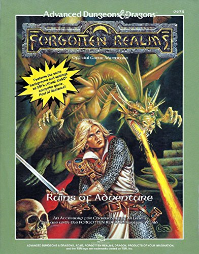 9780880385886: Ruins of Adventure (Advanced Dungeons & Dragons Realms Module)