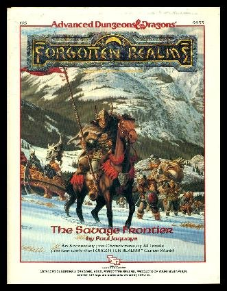 The Savage Frontier Fr5 (Advanced Dungeons & Dragons: Forgotten Realms, No 9233) (0880385936) by Paul Jaquays