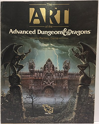 9780880386050: The Art of the Advanced Dungeons & Dragons Fantasy Game