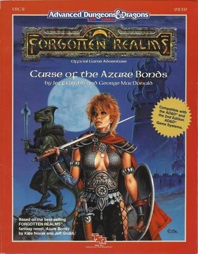 9780880386067: Curse of the Azure Bonds (Advanced Dungeons & Dragons Forgotten Realms Module)