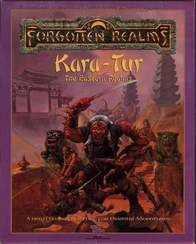 9780880386081: Kara-Tur: The Eastern Realms (AD&D/Forgotten Realms/Oriental Adventures) [BOX SET]