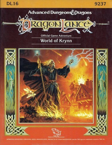 The World of Krynn, Dl16 (Advanced Dungeons & Dragons Dragonlance Accessory): Niles, Douglas; ...