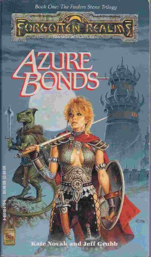 9780880386128: Azure Bonds (Forgotten Realms)
