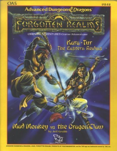 9780880386241: Mad Monkey vs. the Dragon Claw (AD&D/Forgotten Realms/Oriental Adventures Module OA5)