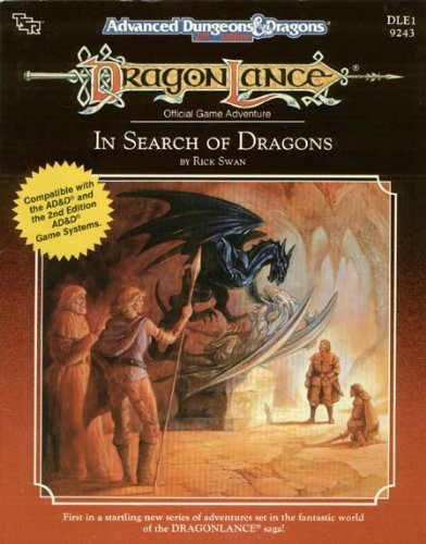 9780880386814: In Search of Dragons (AD&D/Dragonlance Module DLE1)
